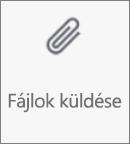 Az Android OneDrive Fájlok küldése gombja