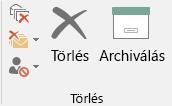 Egykattintásos archiválás