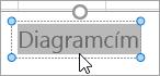 Diagram cím szöveg kijelölése
