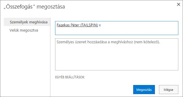 Külső felhasználók hozzáadása egy alwebhelyhez