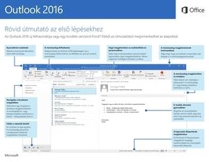 Rövid útmutató az Outlook2016-hoz (Windows)