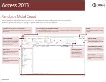 Panduan Mulai Cepat Access 2013