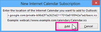 berlangganan kalender internet