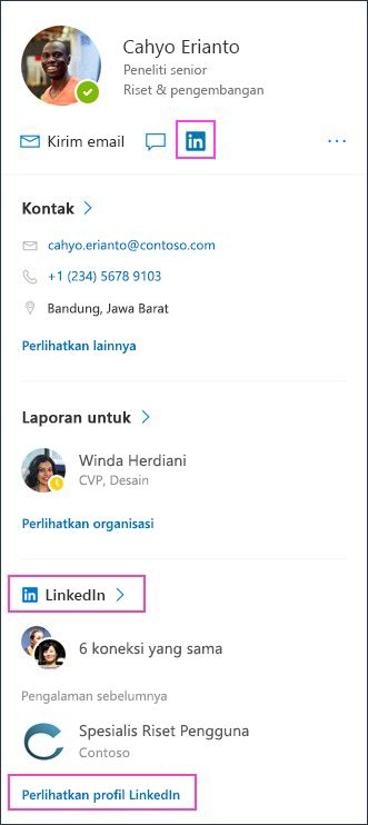 Kartu profil