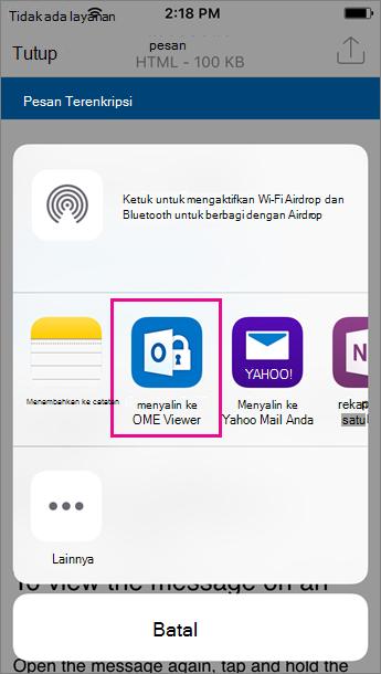 OME Viewer untuk Outlook untuk iOS 3