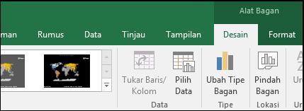 Alat Pita Bagan Peta Excel