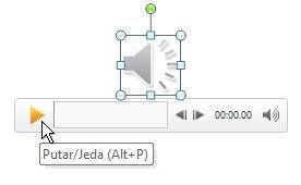 Memutar klip audio Anda