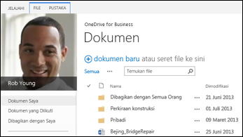 OneDrive for Business SharePoint 2013