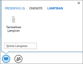 Cuplikan layar menambahkan file