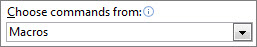Perintah untuk Toolbar Akses Cepat