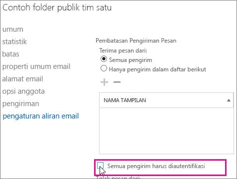 Batasan pengiriman folder publik untuk membantu mengatasi masalah DSN 5.7.135