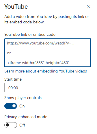 Kotak alat YouTube