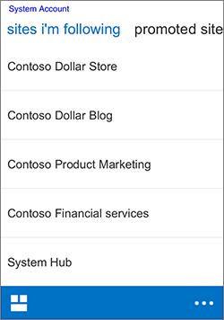 iOS mengikuti situs