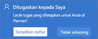 Cuplikan layar kotak dialog ditetapkan untuk saya