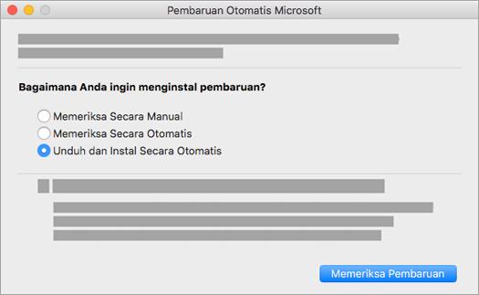 Microsoft AutoUpdate untuk Mac