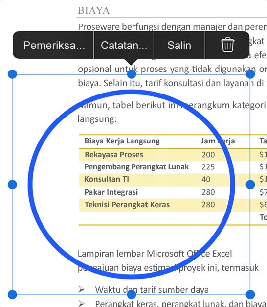 Markup edit PDF