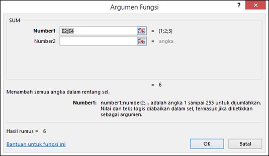 Panduan Fungsi Excel