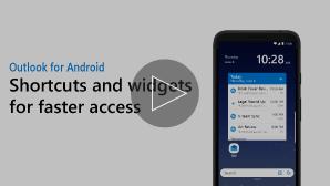 Gambar mini untuk widget dan pintasan video-klik untuk memutar