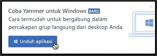 Dalam produk pesan untuk Windows