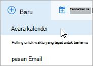 Membuat rapat online baru