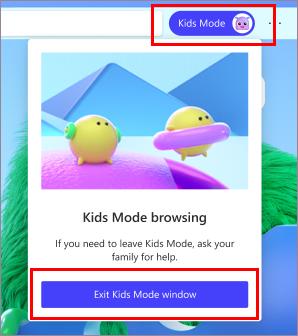Keluar dari Kids MOde
