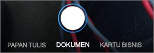 Opsi pemindaian untuk OneDrive untuk iOS