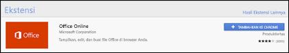 Resmi ekstensi Office Online di Toko Web Chrome