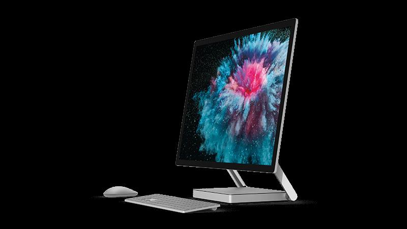 Foto perangkat Surface studio 2