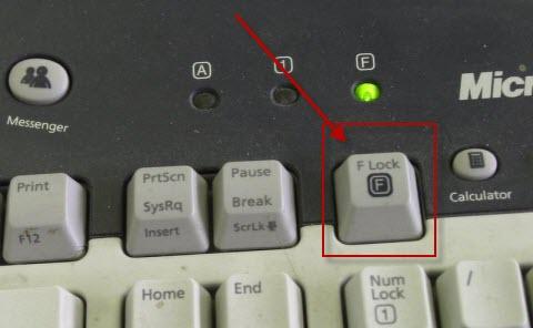 Kunci F