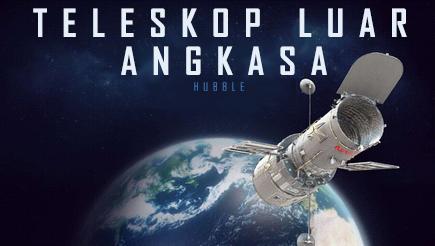 Gambar konseptual sampul presentasi Hubble 3D