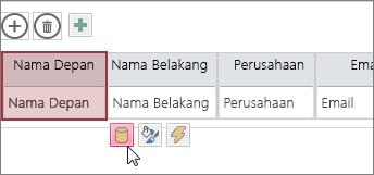 gunakan tombol edit desain untuk mengubah desain lembar data