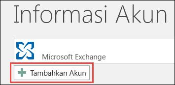 Tambahkan Akun Outlook 2016