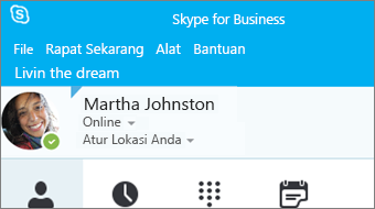 Memulai Skype for Business 2016