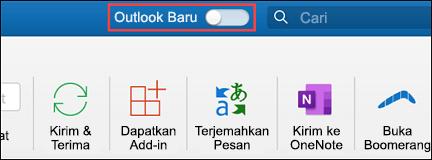 Pembaruan Outlook untuk Mac