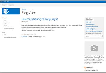 Templat Situs Blog