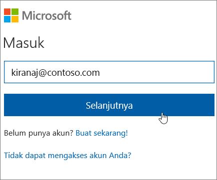 Masuk SharePoint Online