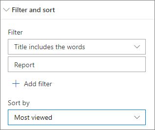 Filter dan Urutkan