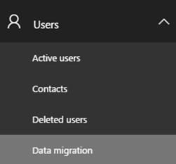 Dasbor migrasi data
