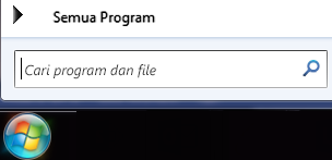 Cupilkan layar cari program