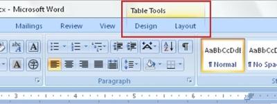 Menambahkan sel, baris, atau kolom ke tabel