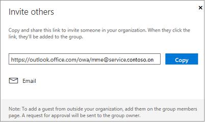 Klik Salin atau Email untuk menyematkan link ikut dalam email