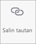 Tombol Salin tautan di OneDrive untuk Android