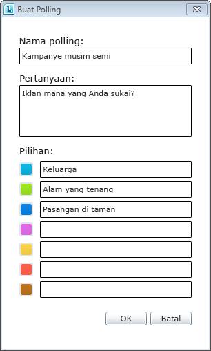 Pemungutan suara Lync