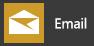 Memperlihatkan aplikasi Email untuk Windows 10, seperti yang muncul di menu Mulai Windows