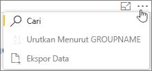Cuplikan layar: Ekspor Kaizala laporan datat ke sebuah file CSV