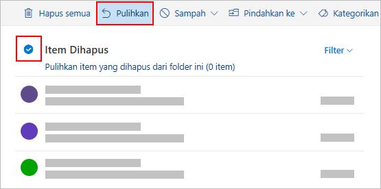 Dialog Hapus Outlook.com