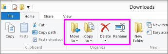 Buka folder di mana file yang diunduh berada.