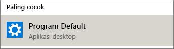 Program default di Windows