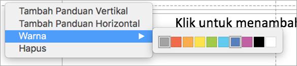 Panduan berbagai warna pengguna untuk membantu membuat presentasi yang luar biasa.