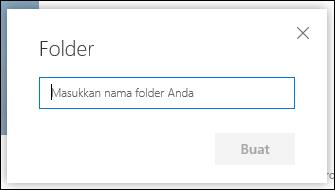 Nama Folder pustaka dokumen baru